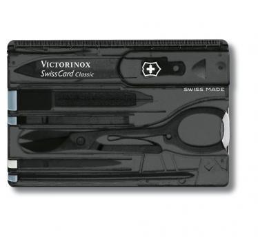 Victorinox SwissCard Classic, transparentno črn (0.7133.T3)