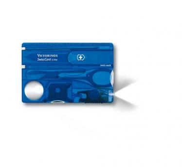 Victorinox SwissCard Lite, transparentno moder (0.7322.T2)