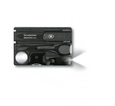 Victorinox SwissCard Lite, transparentno črn (0.7333.T3)