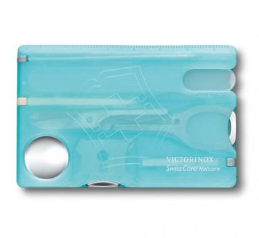 Victorinox SwissCard Nailcare, ice blue (0.7240.T21)