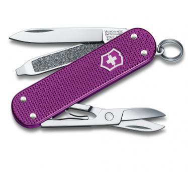 Victorinox švicarski žepni nož Alox steel Violet Classic (0.6221.L16)