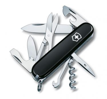Victorinox švicarski žepni nož Climber, črn (1.3703.3)