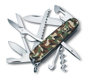 Victorinox švicarski žepni nož Huntsman, kamuflažn (1.3713.94)
