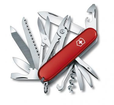 Victorinox švicarski žepni nož Handyman, rdeč (1.3773)