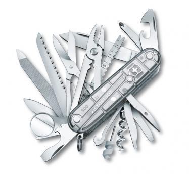 Victorinox švicarski žepni nož SwissChamp, silvertech (1.6794.T7)