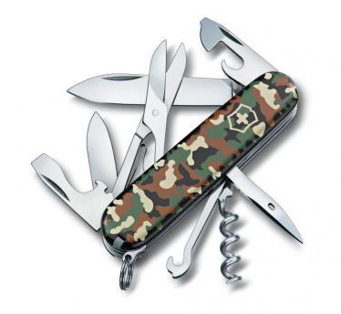 Victorinox švicarski žepni nož Climber, kamuflažn (1.3703.94)