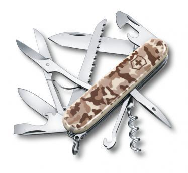 Victorinox švicarski žepni nož Huntsman, puščavska kamuflažn (1.3713.941)