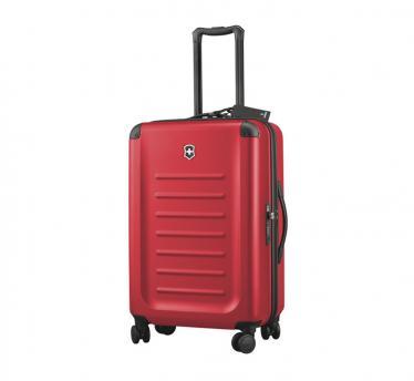 Victorinox potovalni kovček spectra™ medium, 8 koles, rdeč (31318403)