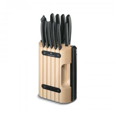 Victorinox klada z 11 noži, črna (6.7153.11)
