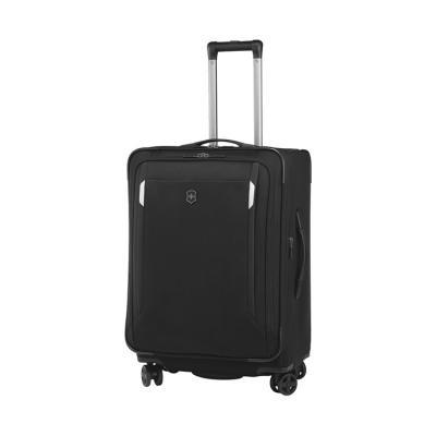 Victorinox potovalni kovček werks 5.0 wt-24 dual caster, črn (32302201)