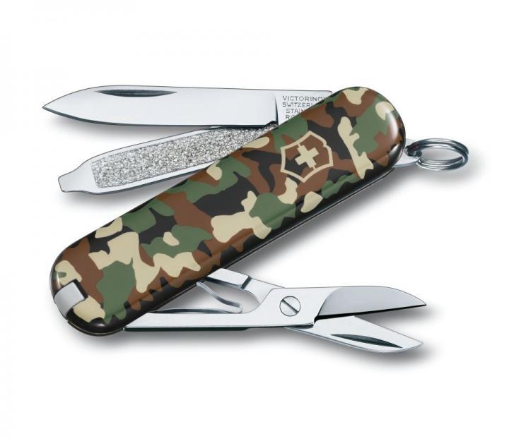 Victorinox švicarski žepni nož Classic, kamuflažna (0.6223.94)