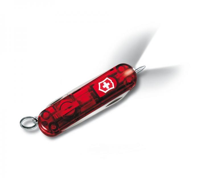 Victorinox švicarski žepni nož Signature Lite, transparentno rdeč (0.6226.T)