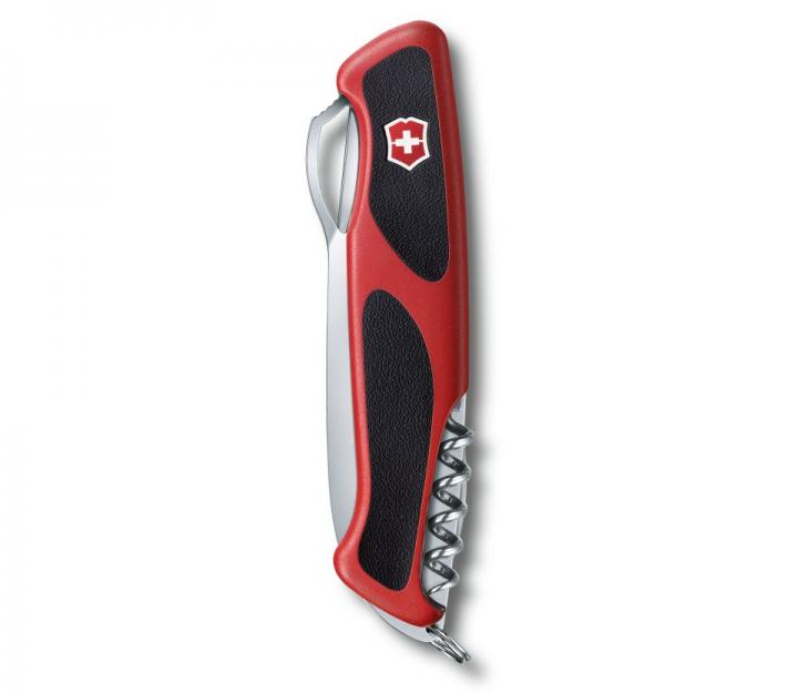 Victorinox švicarski žepni nož RangerGrip 61, rdeč/črn (0.9553.MC)