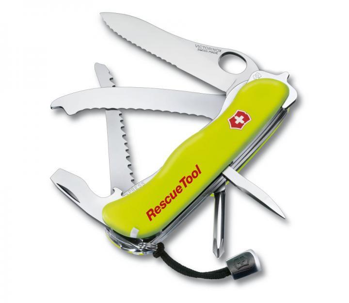 Victorinox švicarski žepni nož Rescue Tool, flourescentno rumen (0.8623.MWN)