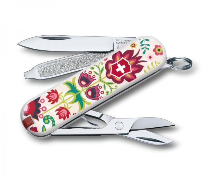 """Victorinox švicarski žepni nož Classic """"Happy Folks"""" (0.6223.L1603)"""