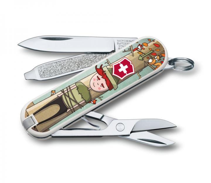 """Victorinox švicarski žepni nož Classic """"Willhelm Tell"""" (0.6223.L1609)"""