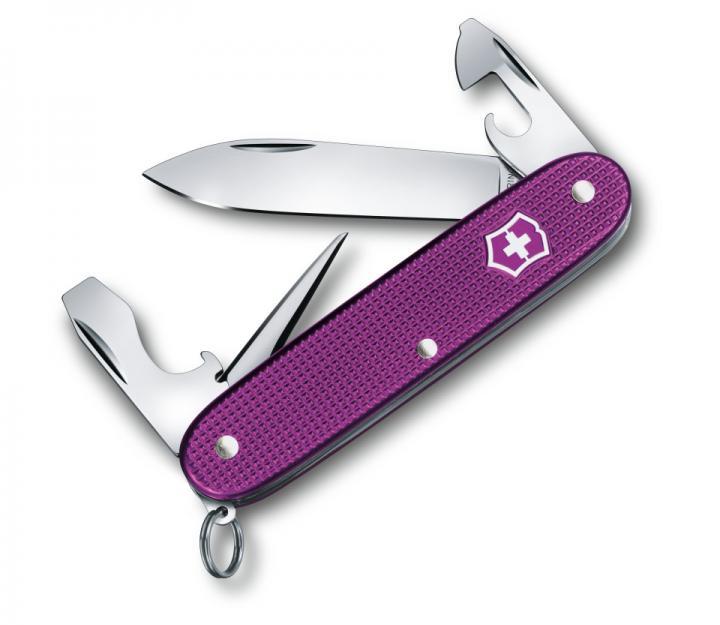 Victorinox švicarski žepni nož Alox steel Violet Pioneer (0.8201.L16)