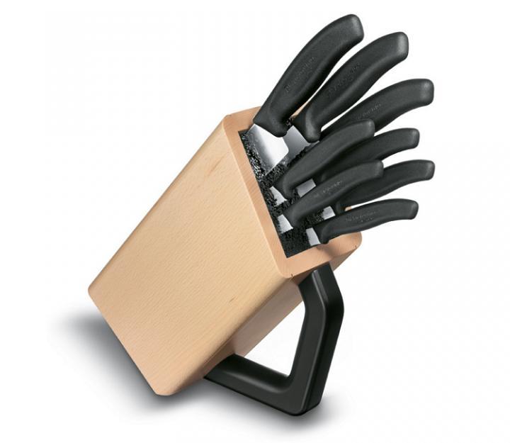 Victorinox klada z 8 noži, črna (6.7173.8)