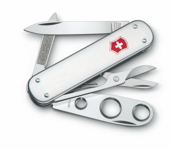 Victorinox švicarski žepni nož Cigar Cutter, alox (0.6580.16)