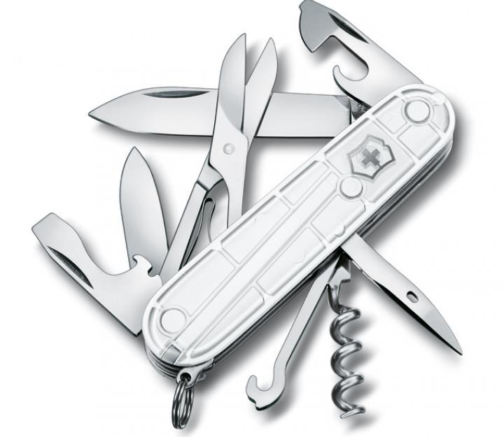 Victorinox švicarski žepni nož Climber White Christmas (1.3703.T77)