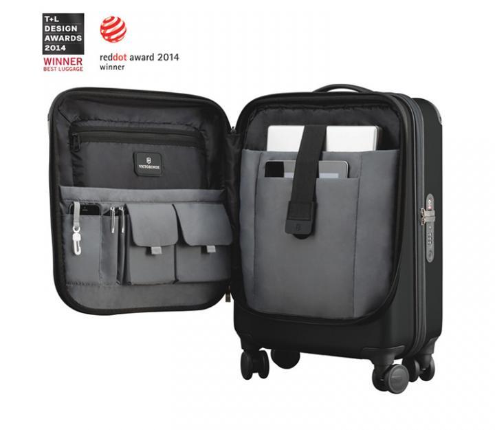 Victorinox kabinski kovček Spectra™ Dual-Access Global Carry-on, črn (31318001)