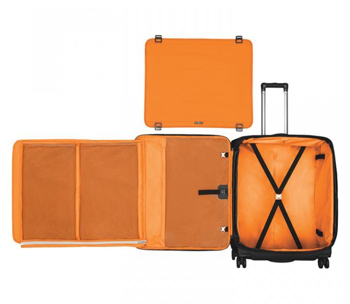 Victorinox potovalni kovček werks 5.0 wt-27 dual caster, črn (32302301)