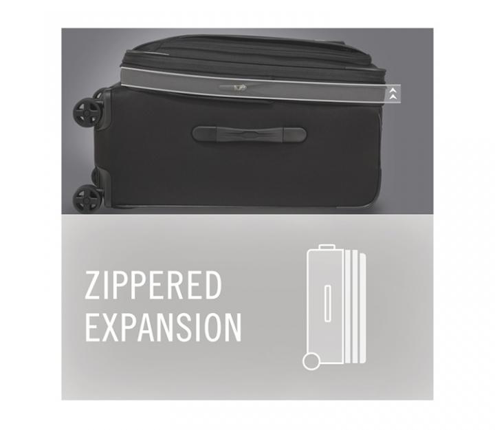 Victorinox kabinski kovček Werks 5.0 WT-20 Dual Caster, črn (32301901)