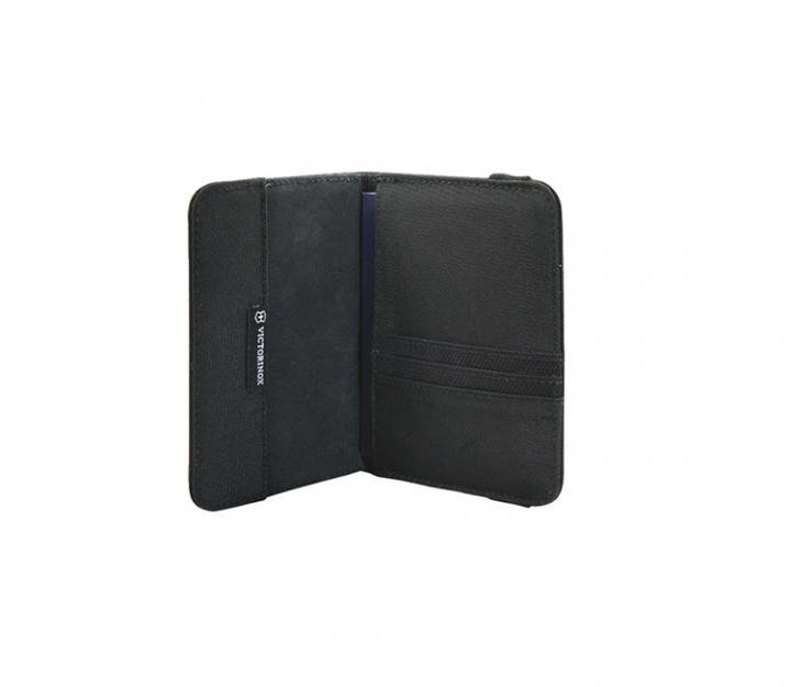 Victorinox Ovitek za potni list, RFID zaščita, črn (31172201)