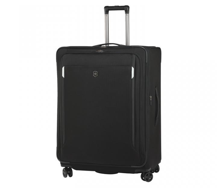 Victorinox potovalni kovček werks 5.0 wt-30 dual caster, črn (32302401)