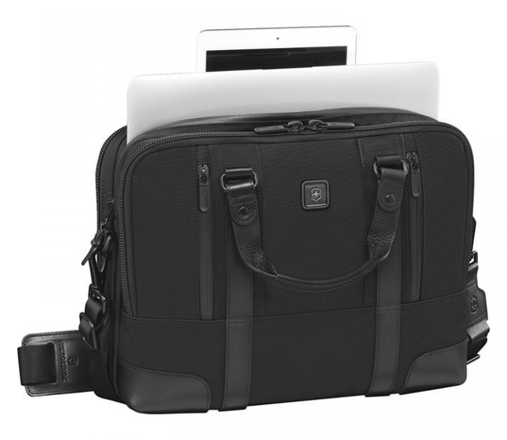Victorinox Poslovna torba Lexicon Professional Lassale 13, črna (601111)