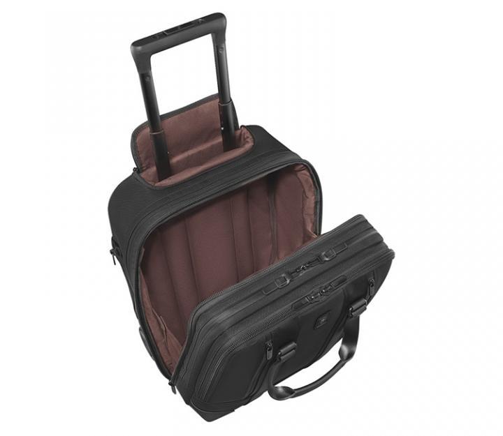 Victorinox Poslovni kovček Lexicon Professional Shenton, črn (601117)