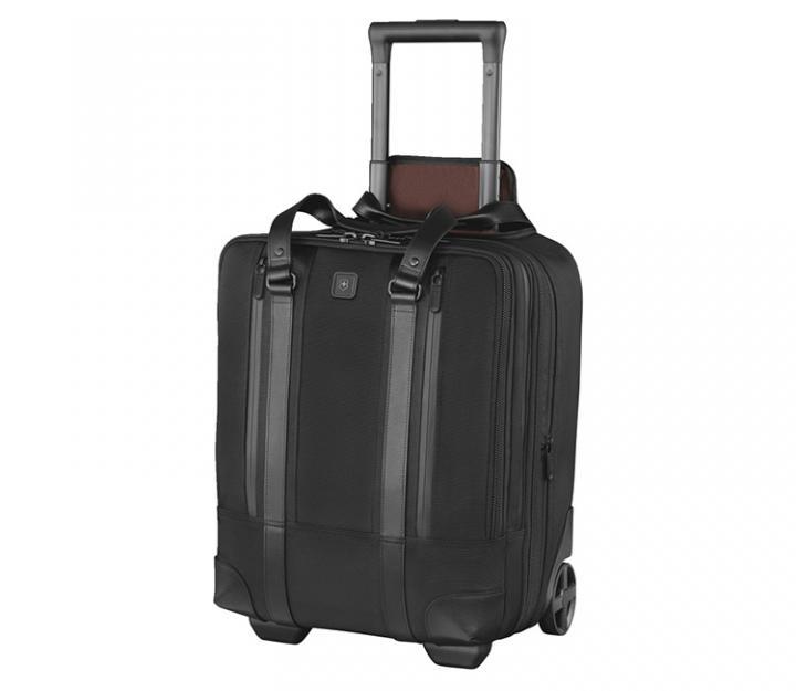 Victorinox Poslovni kovček Lexicon Professional Century vertical, črn (601118)