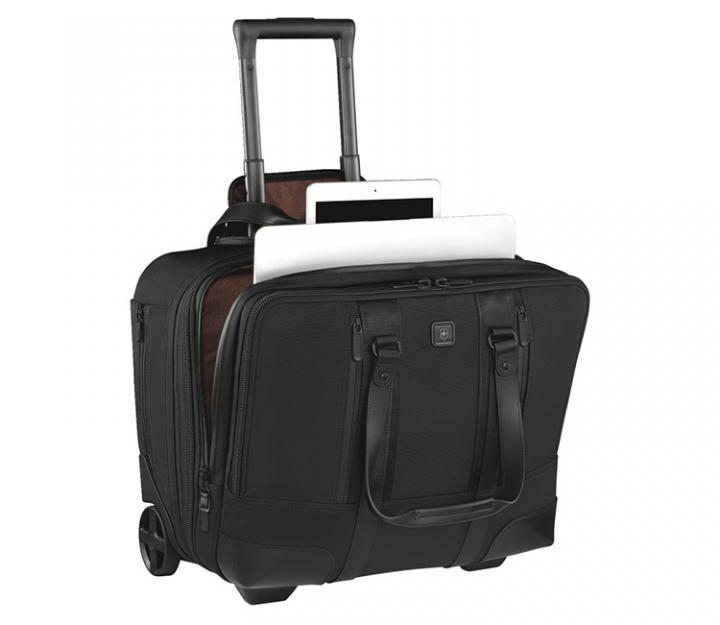 Victorinox Poslovni kovček Lexicon Professional Century, črn (601119)