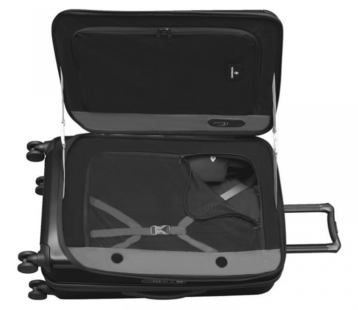 Victorinox potovalni kovček spectra™ large expandable, črn (601291)