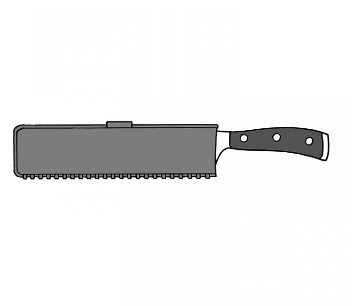 Wüsthof magnetna zaščita za rezila do 26 cm (9921-2)